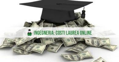 Costi Laurea Online Ingegneria