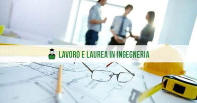 Lavoro e Laurea in Ingegneria