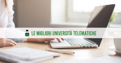 Quali sono le migliori università telematiche in Italia?