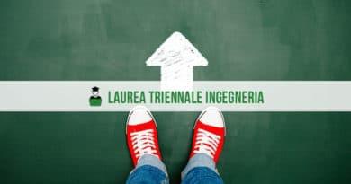 Laurea Triennale Ingegneria