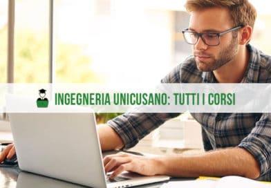 Facoltà Ingegneria Unicusano: la nuova offerta formativa per l'A.A. 2020/2021