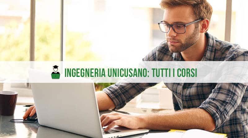 Unicusano Ingegneria Corsi di Laurea