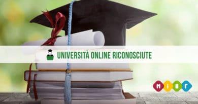Elenco Università Online riconosciute dal Miur