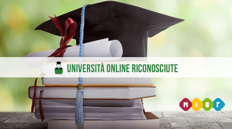 università online riconosciute miur