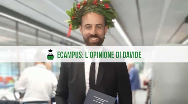 Opinioni eCampus Intervista Davide
