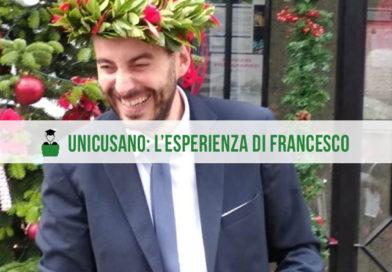 Opinioni Unicusano: l'intervista a Francesco, laureato in Ingegneria