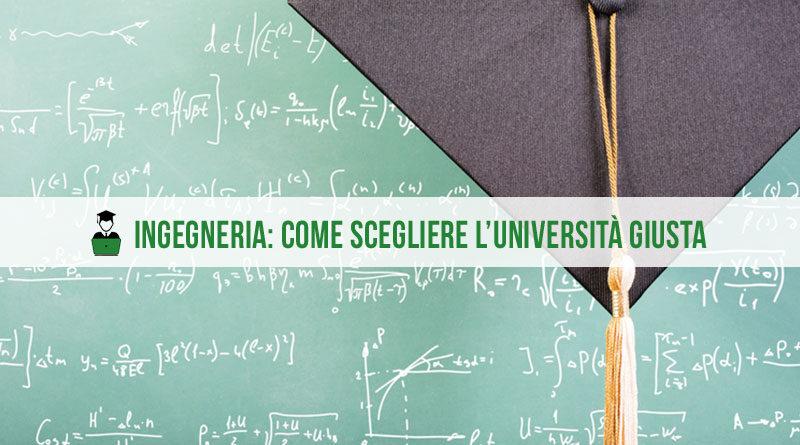 Ingegneria: come scegliere l'università giusta